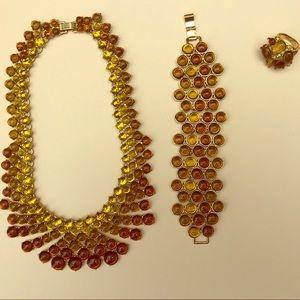 Banana Republic necklace, bracelet and ring